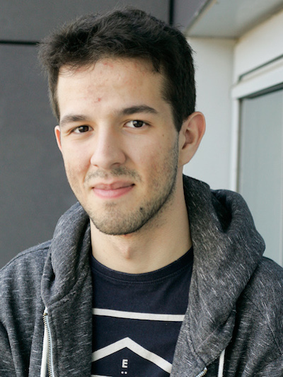 Portrait picture of Pedro, Software Developer